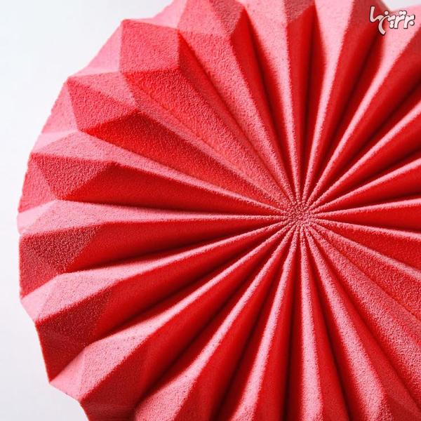 کیکهای هندسی باورنکردنی با الهام از اریگامی