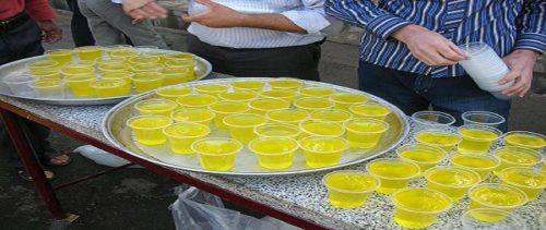 آموزش تهیه شربت زعفران  ویژه نذری در ماه محرم
