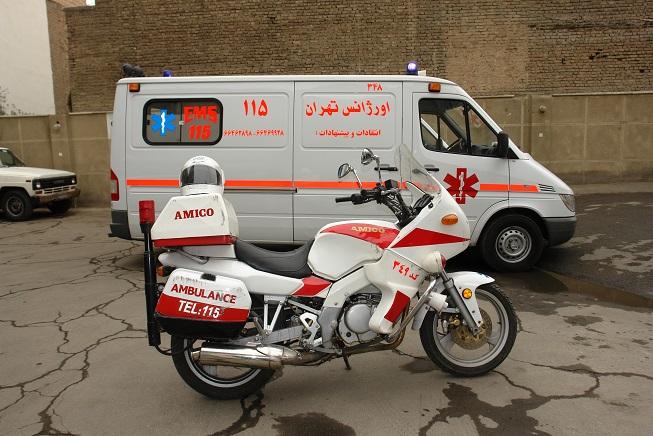 /تعمیر و تجهیز 1400 آمبولانس کارکرده