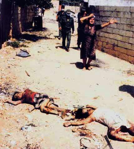 روزی که رژیم اسرائیل چهره واقعی خودش را نشان داد+تصاویر