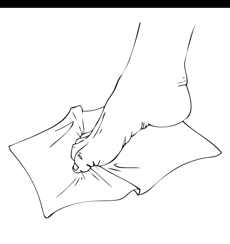 تمرینهای مناسب برای درمان صافی کف پا+ تصویر