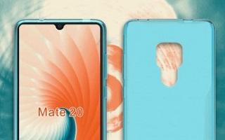 طراحی گوشی Mate 20 شرکت هواوی فاش شد +تصاویر