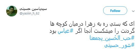 روضه خوان بگو #عباس ودیگر هیچ مگو..+ تصاویر