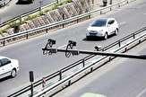 تجهیز دوربینهای پلیس به پروژکتور برای کنترل معاینه فنی خودروها