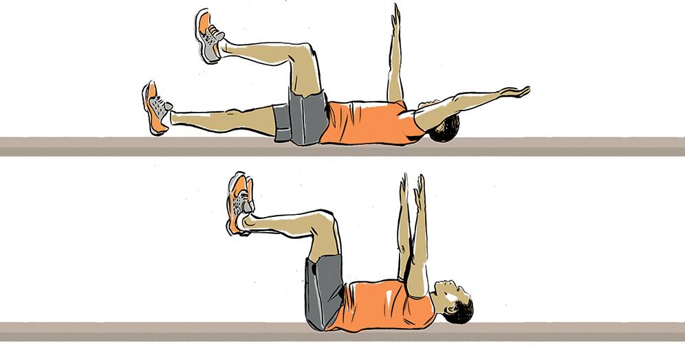 تمرین های مناسب برای کنترل درد های سیاتیک+تصویر
