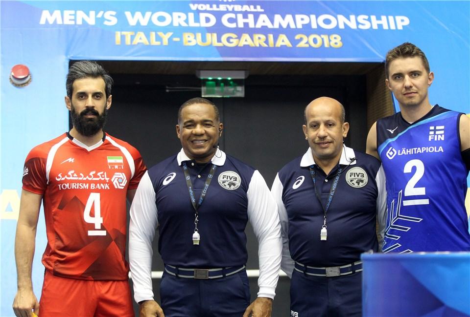 لحظه به لحظه با دیدار تیم ملی والیبال ایران و فنلاند