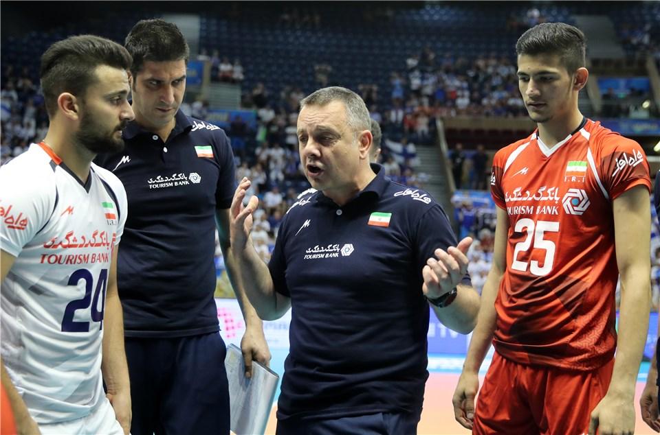 ایران یک - فنلاند یک/ تساوی دو تیم در پایان ست دوم