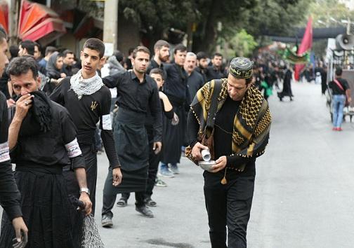 برگزاری مراسم تاسوعا حسینی در کرمانشاه + تصویر