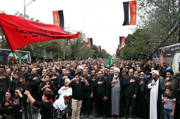 باشگاه خبرنگاران - تجمع روز تاسوعا در قزوین