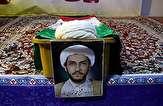 تشییع پیکر حجت الاسلام محمد تولایی در روز تاسوعا + فیلم