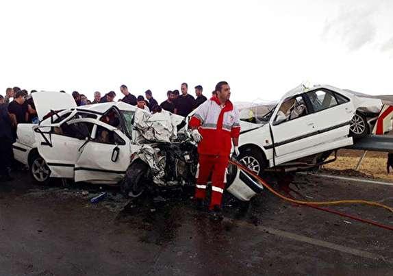 باشگاه خبرنگاران - تصادف شدید در محور فیروزآباد-خلخال/ ۵ نفر کشته و ۴ نفر مصدوم شدند + تصویر