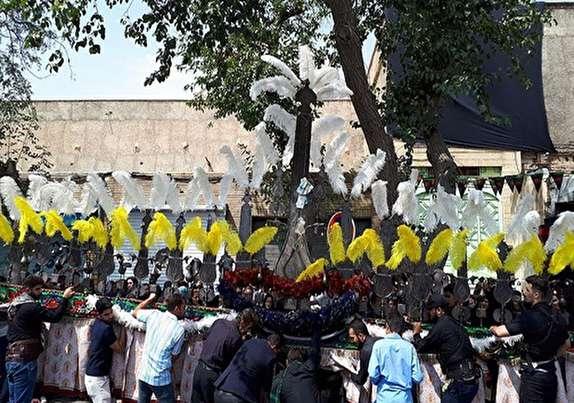 باشگاه خبرنگاران - برگزاری مراسم عزاداری تاسوعای حسینی در استان کردستان+ تصاویر
