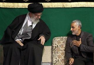 حضور سردار سلیمانی در محضر رهبر انقلاب +تصویر