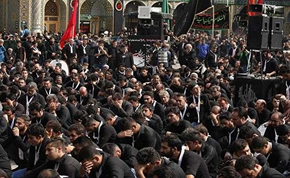 شهر بانوی کرامت(س) غرق در شور حسینی