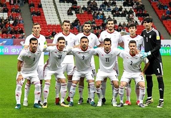 سقوط یک پلهای تیم ملی فوتبال ایران در رنکینگ فیفا