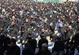 باشگاه خبرنگاران - اقامه نماز عاشورا در گلستان