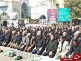 باشگاه خبرنگاران - اقامه نماز ظهر عاشورا توسط عزاداران حسینی در خوی+تصاویر