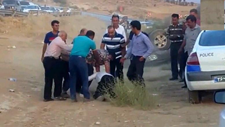 واکنش کاربران به حمله وحشیانه سرنشین لندکروز به مأمور پلیس راهور