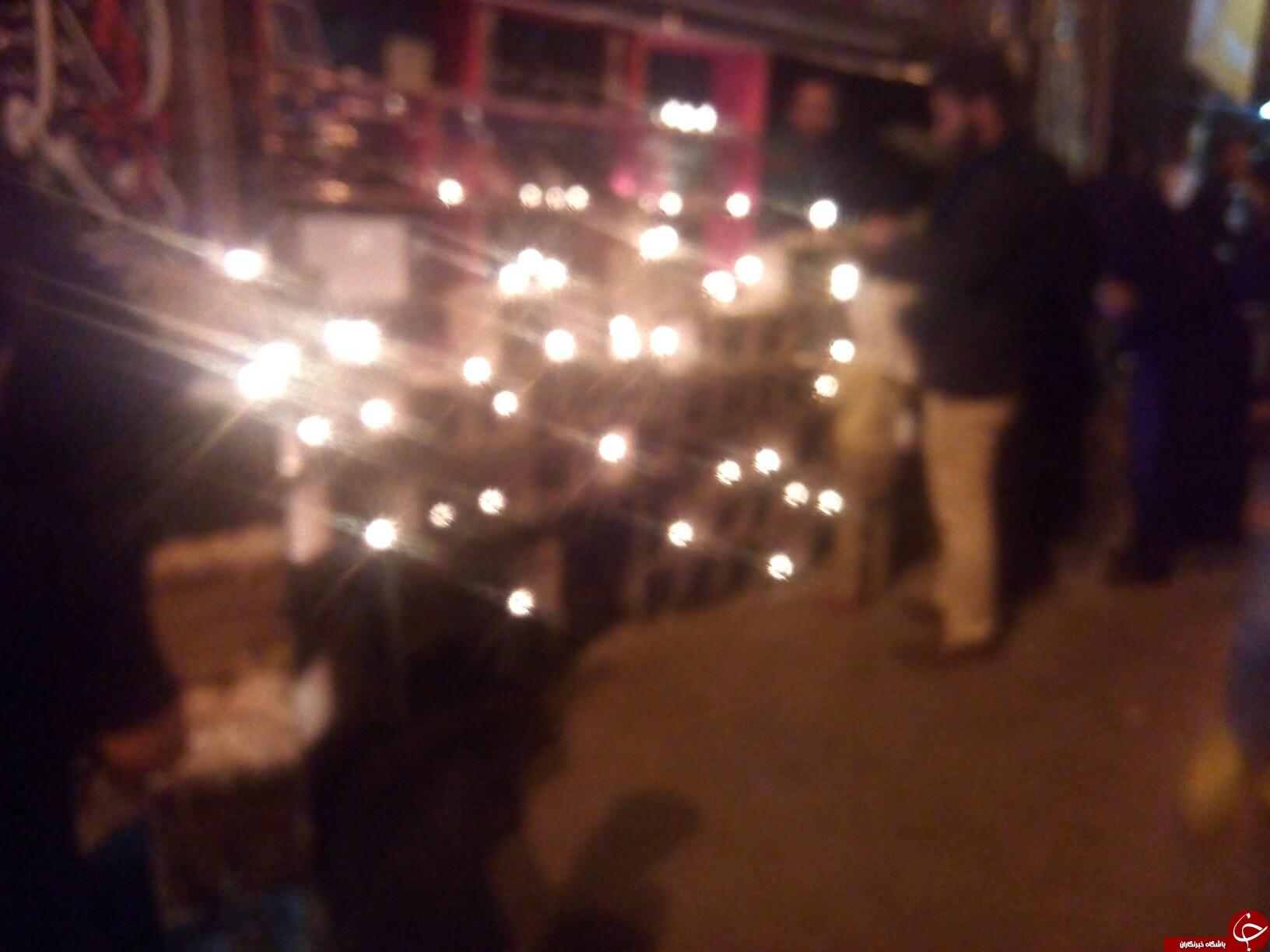 مراسم شام غریبان کاروان امام حسین(ع) در همدان + تصاویر