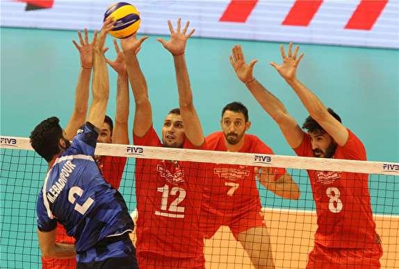 آغاز مرحله دوم با دیدار تکراری / والیبال ایران بار دیگر به میزبان رسید
