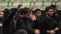 شعرخوانى جوانان عراقى در حسينيه امام خمينى(ره) در محضر رهبر معظم انقلاب +فیلم