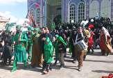 باشگاه خبرنگاران - مراسم تعزیه خوانی و خیمه سوزان در روستای علی آباد قوچان+ تصاویر