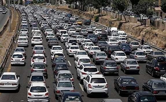 باشگاه خبرنگاران -ترافیک سنگین در آزاد راه قزوین- کرج