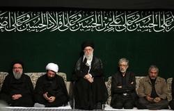 آخرین شب مراسم عزاداری حضرت اباعبدالله الحسین (ع) برگزار شد
