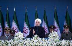 لحظه مطلع شدن روحانی از حمله تروریستی اهواز +عکس