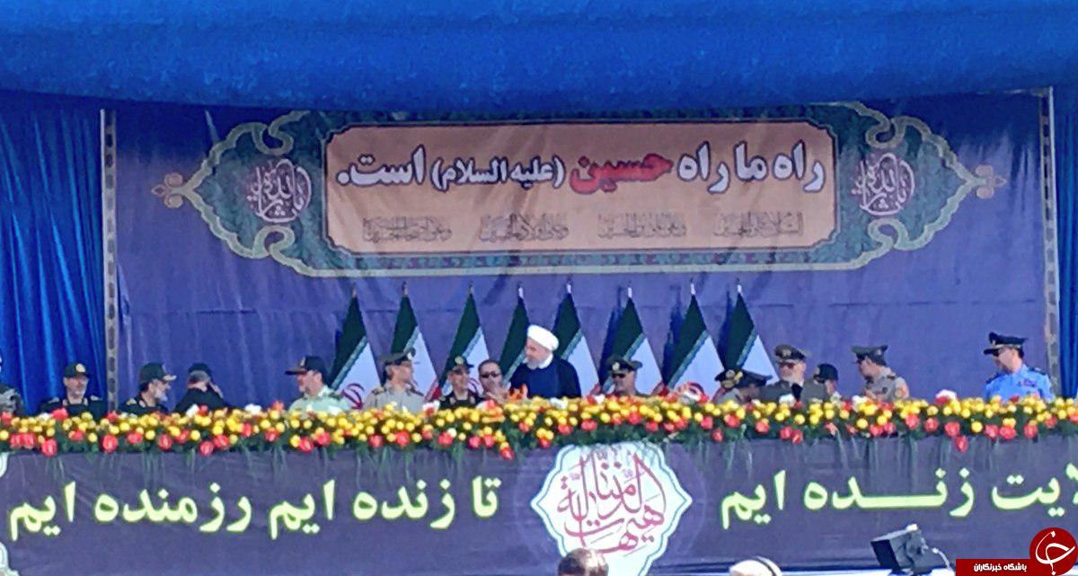لحظه مطلع کردن روحانی از حمله تروریستی اهواز+ عکس