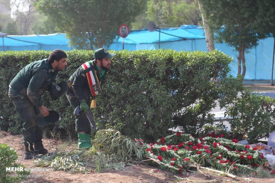 تصاویر از حمله امروز اهواز