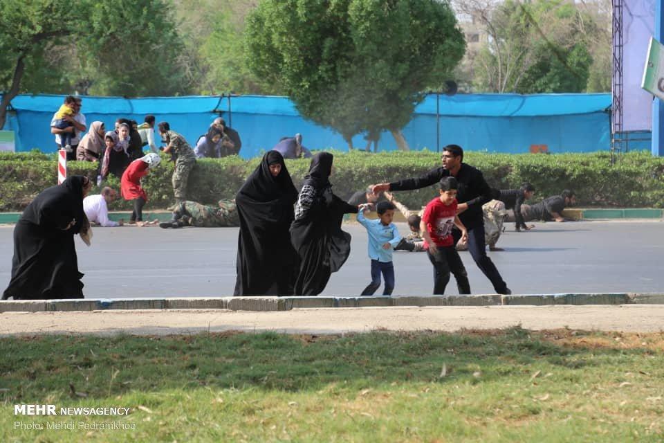 تصاویر منتشر شده از محل حمله تروریستی اهواز