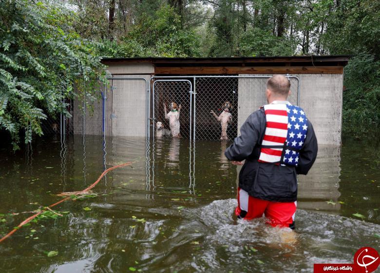 جهان در آیینه تصویر/ تصاویر هفته: از توفان سهمگین فلورنس در کارولینای شمالی تا دیدار سران کرهشمالی و کرهجنوبی