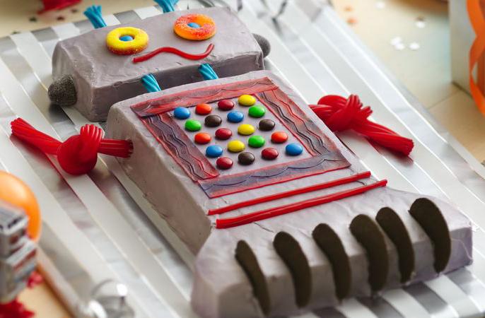 رباتی که کیک میپزد! + فیلم