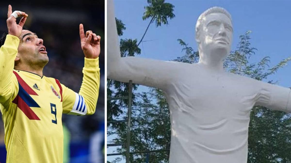 فاجعه ای دیگر در ساخت مجسمه یک فوتبالیست!+عکس