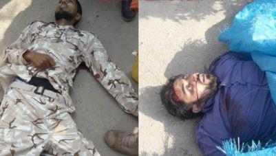 نخستین تصویر منتشر شده از دو عضو گروهک تروریستی الاحواز