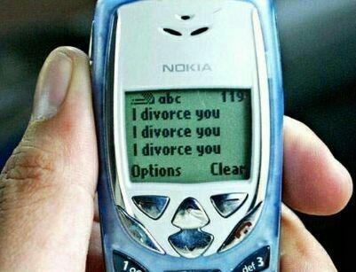 عجیبترین و آسانترین شیوه طلاق + عکس