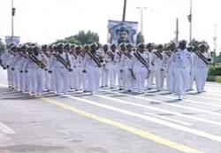 پیامی از رژه بندرعباس به تروریستها در اهواز +عکس