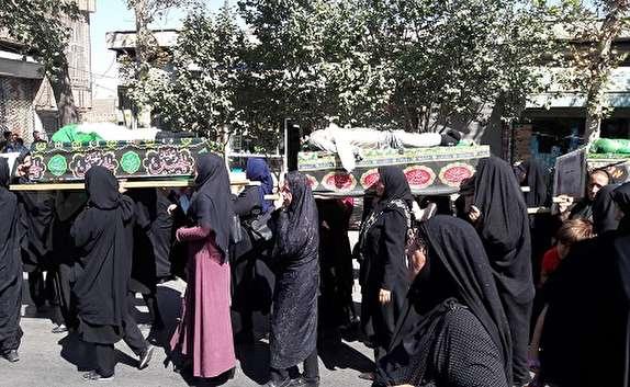 باشگاه خبرنگاران - پیکر شهدای دشت کربلا امروز در قزوین به صورت نمادین تشییع شد