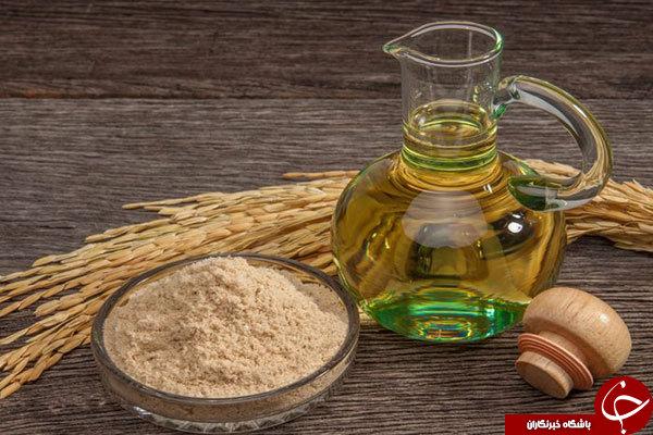 بررسی خواص زیبایی و غذایی روغن سبوس برنج