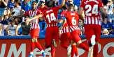 باشگاه خبرنگاران -پیروزی اتلتیکو مادرید مقابل ختافه ۱۰ نفره