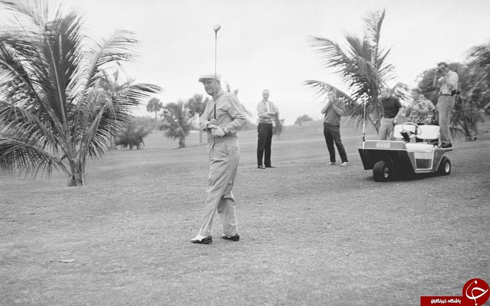 سنت گلف بازی در میان روسای جمهور آمریکا+تصاویر