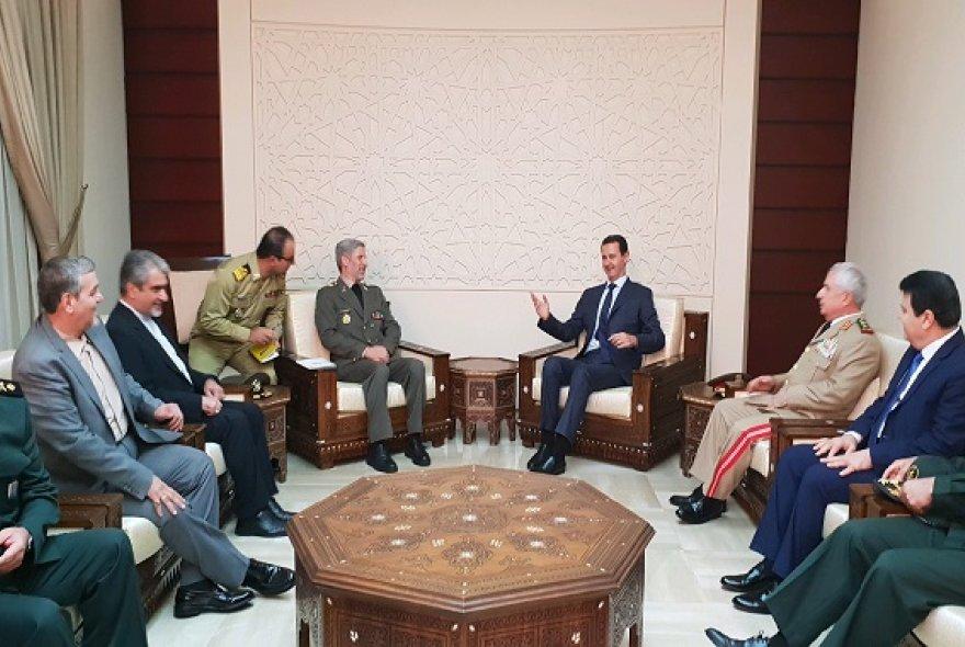 در دوره بازسازی در کنار دولت و ملت سوریه هستیم