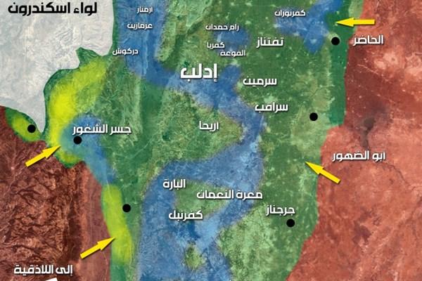 عربستان برای باقی ماندن در سوریه دست و پا می زند/ از دلارهای عربی تا تجهیزات غربی، تلاش ها برای ماندن در سوریه ادامه داد/ آیا ادلب محل رویارویی آمریکا با محور مقاومت خواهد شد؟