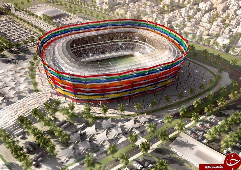 استادیوم های قطر