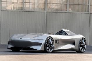 طرح مفهومی اتومبیل خاص و جدید Infiniti را ببینید +تصاویر