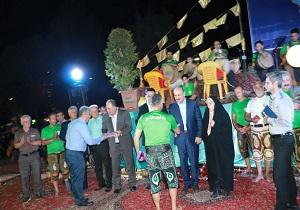 همایش ورزش پهلوانی در قزوین