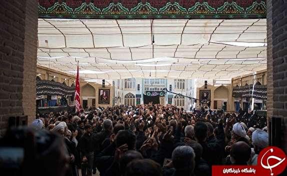 باشگاه خبرنگاران -روزی که روحانیون میزبان عزاداران حسینی هستند