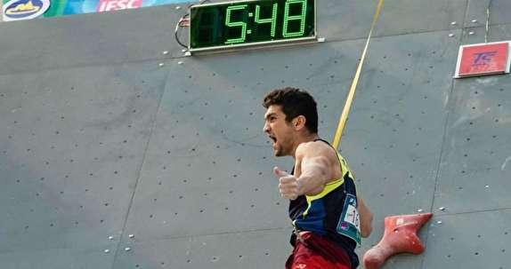 علیپور: بدون استراحت و آسیب دیدگی به مدال طلای جهانی رسیدم/بر خلاف سایر رشته ها به سنگنوردی اهمیت داده نمی شود
