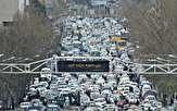 بار ترافیکی سنگین در بزرگراههای پایتخت در نخستین روز مهرماه/ والدین در مقابل مدارس پارک نکنند